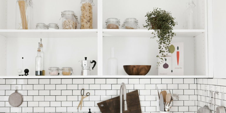 7 Ways to Make Your Kitchen Feel Bigger - open shelving