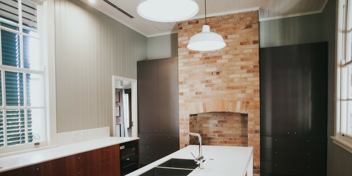 7 Ways to Make Your Kitchen Look Bigger - overhead lighting and windows